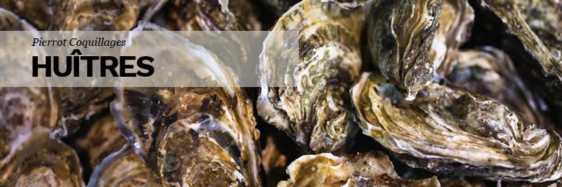 Achat d'huîtres d'exception à Marseille chez Pierrot Coquillages à Marseille