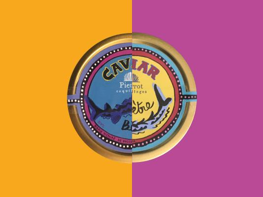 Caviar Beluga pour Pierrot Coquillages X Marie Victoire De Bascher